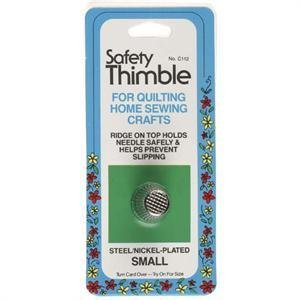 Nickel Plated Safety Thimble - Small