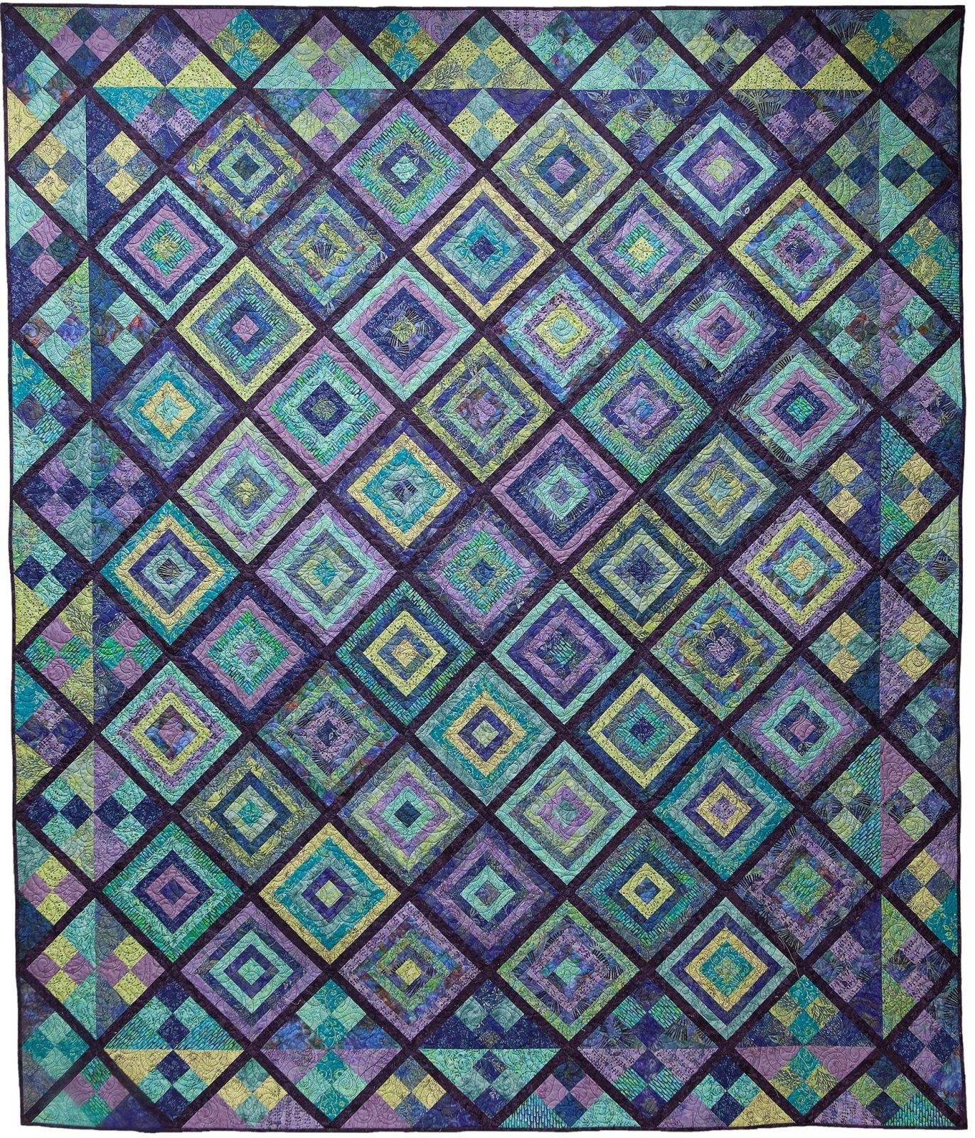 Glad Creations pattern - Log Cabin Shuffle