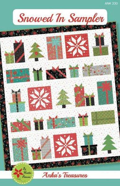 Snowed In Sampler Quilt Pattern