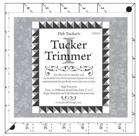 Tucker Trimmer I - Trim Down Tool for Pieced Squares