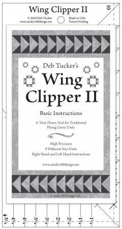 Wing Clipper II - a Trim Down Tool for Flying Geese Units