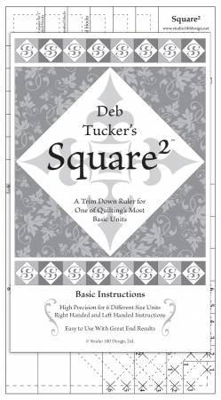 Square Squared - Trim Down Ruler