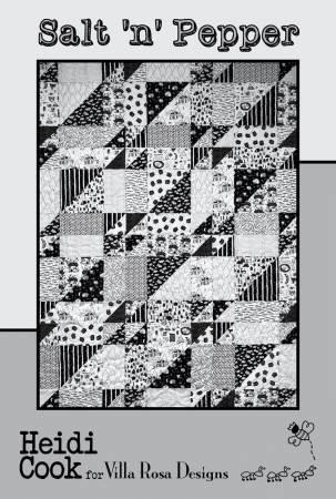 Salt 'n' Pepper Quilt Pattern from Villa Rosa Designs