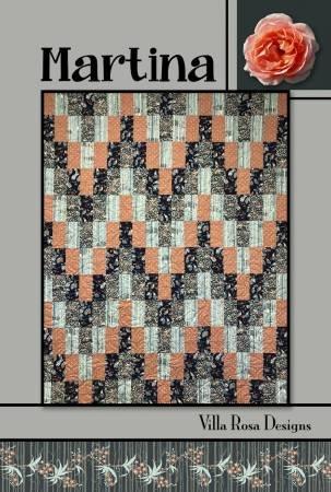 Martina Quilt Pattern from Villa Rosa Designs