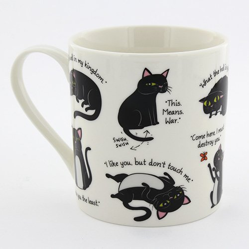 GFOX Catitude Cat Mug