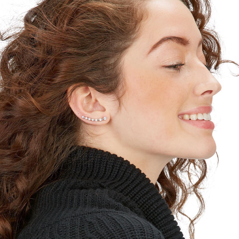 Two's Company Crystal Ear Crawler
