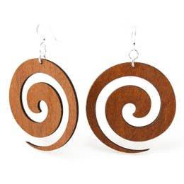 Greentree Swirl Earrings