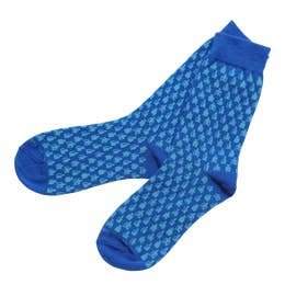 Barrel Down South Blue Bourbon Socks
