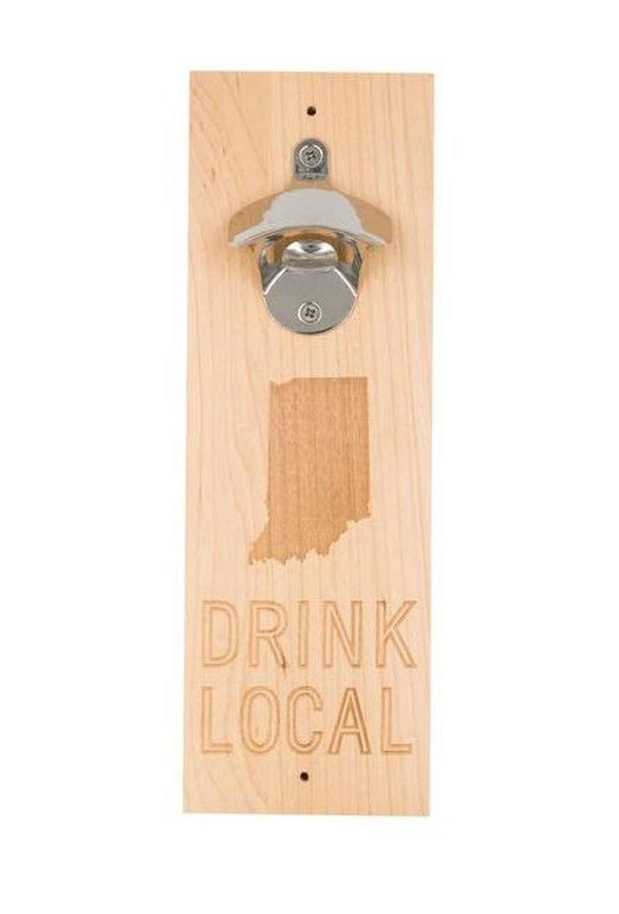 About Face Indiana Drink Local Bottle Opener
