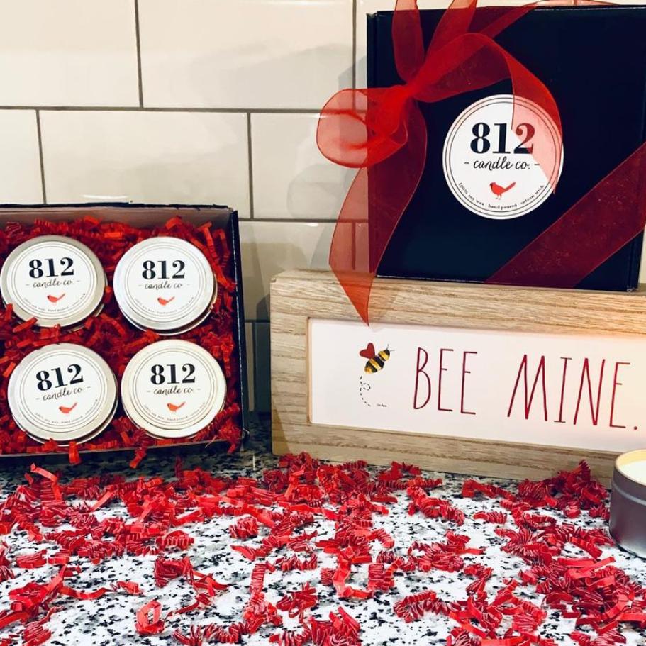 Valentine Box of 4 tins
