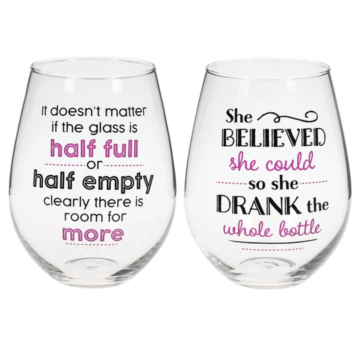 Because if Wine is Fine Giant Wine Glass