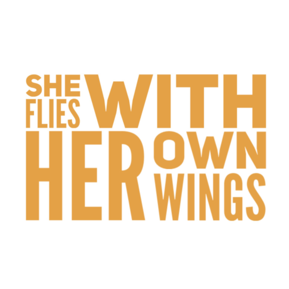 She Flies Vinyl Decal