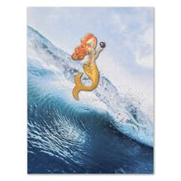 PI PIN/CARD Pearl Mermaid