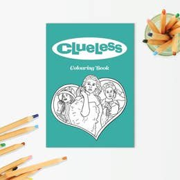 PM Clueless Coloring Book