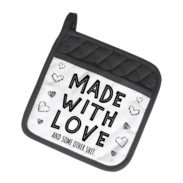 Twisted Wares Pot Holder Made With Love