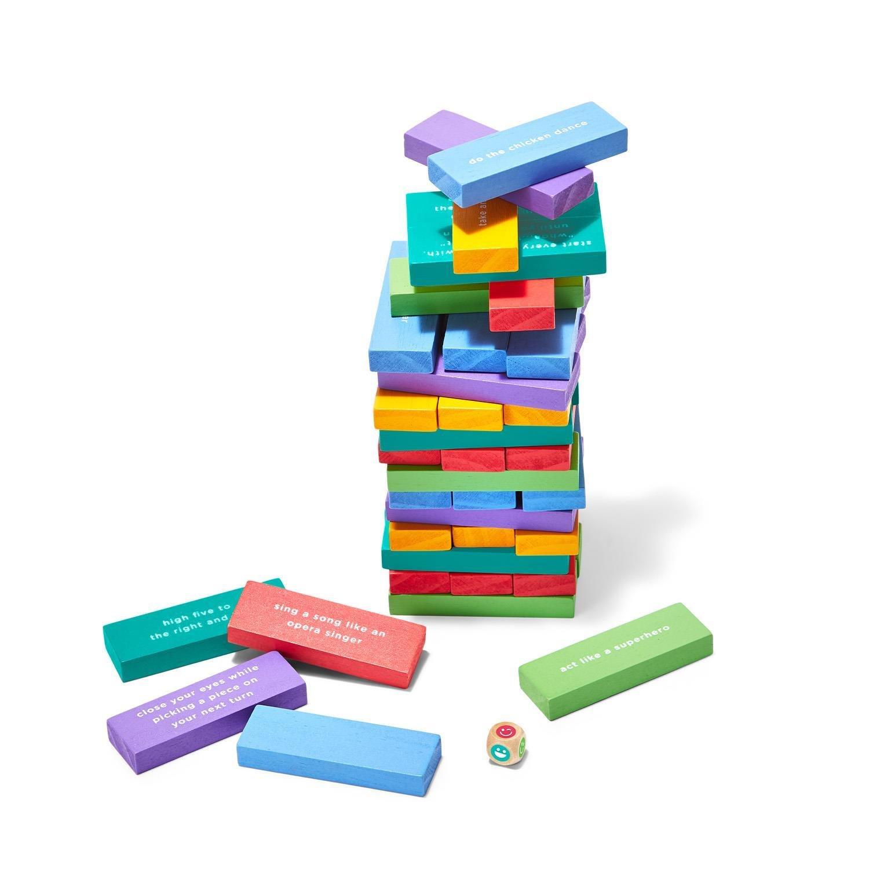 Two's Company Tumbling Blocks Game