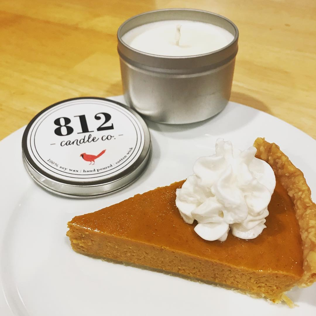 812 Candle - Toasted Pumpkin