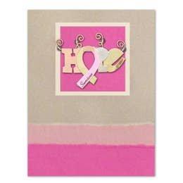 PI PIN/CARD Hope Ribbon