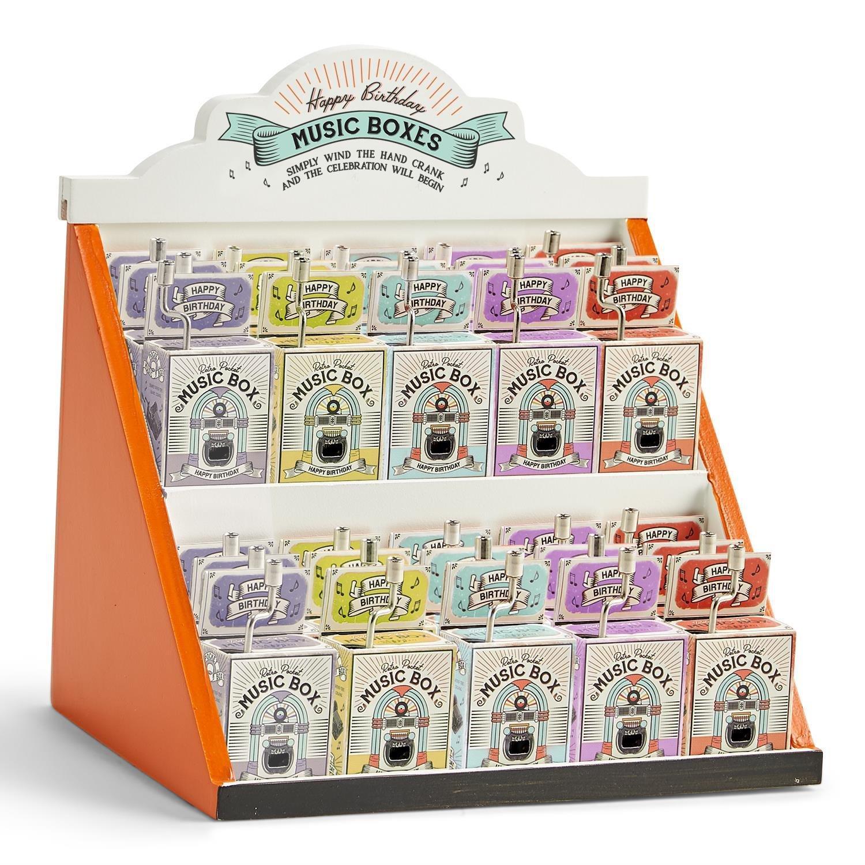 Two's Company Birthday Music Box