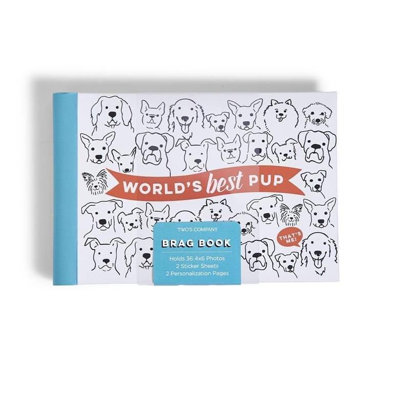 Two's Company World's Best Pup Photo Album