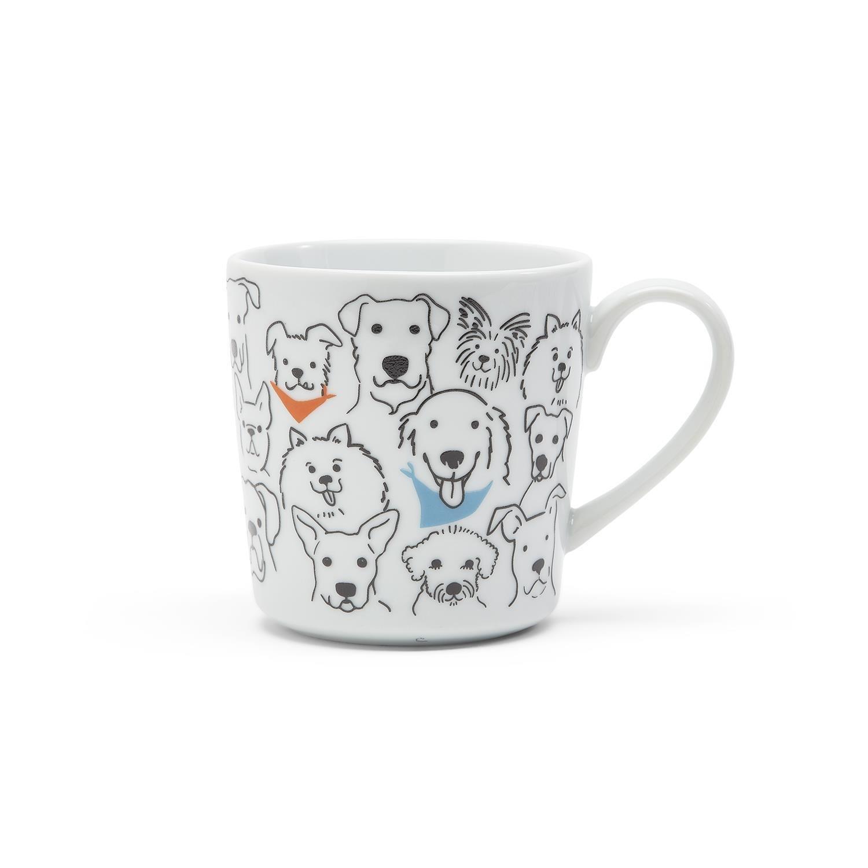 Two's Company Dog Loves Me Best Mug