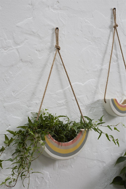 Rainbow Hanging Planter