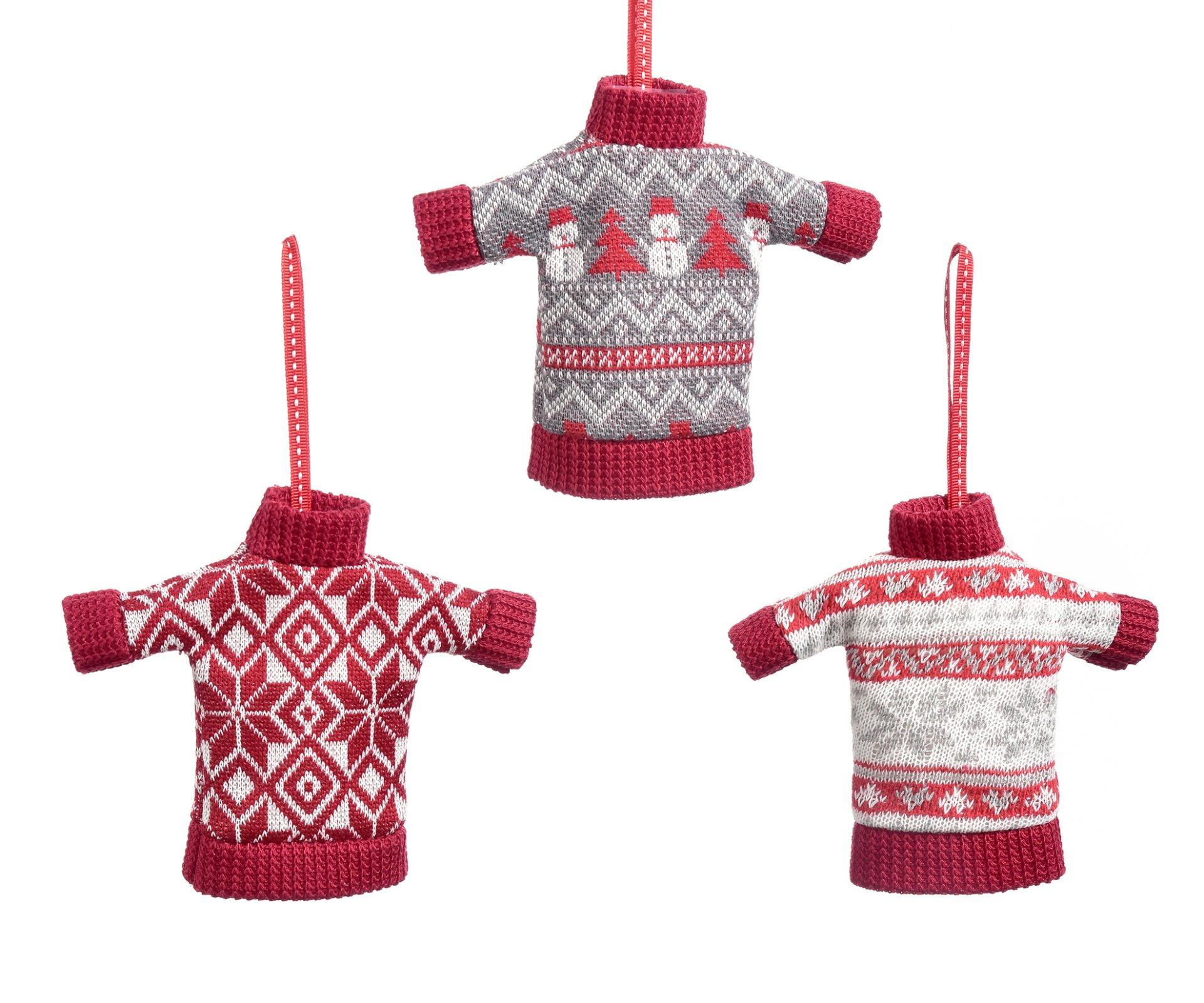 Knit Sweater Ornament