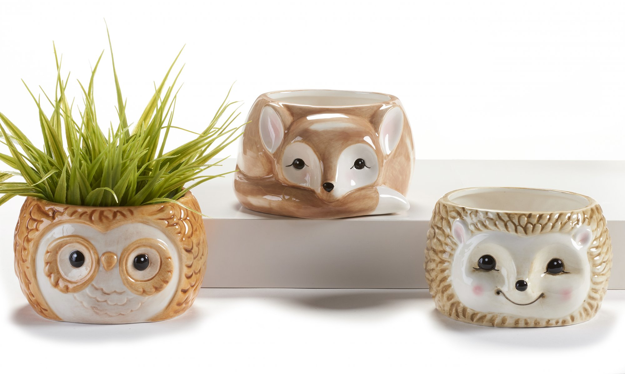 Ceramic Woodland Panters