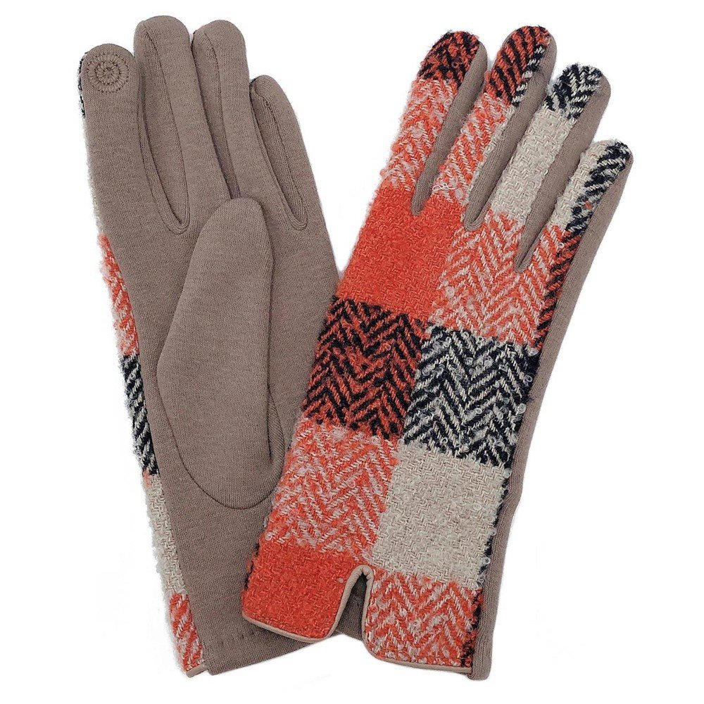 JUD Rust Tan Black Gloves