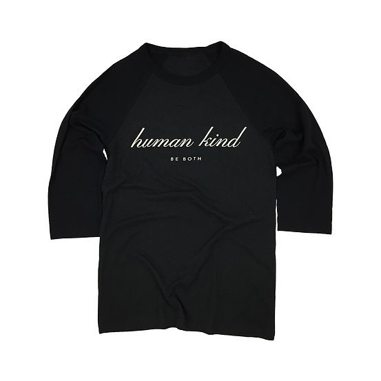 Hazel & Hunt Human Kind Jersey Black