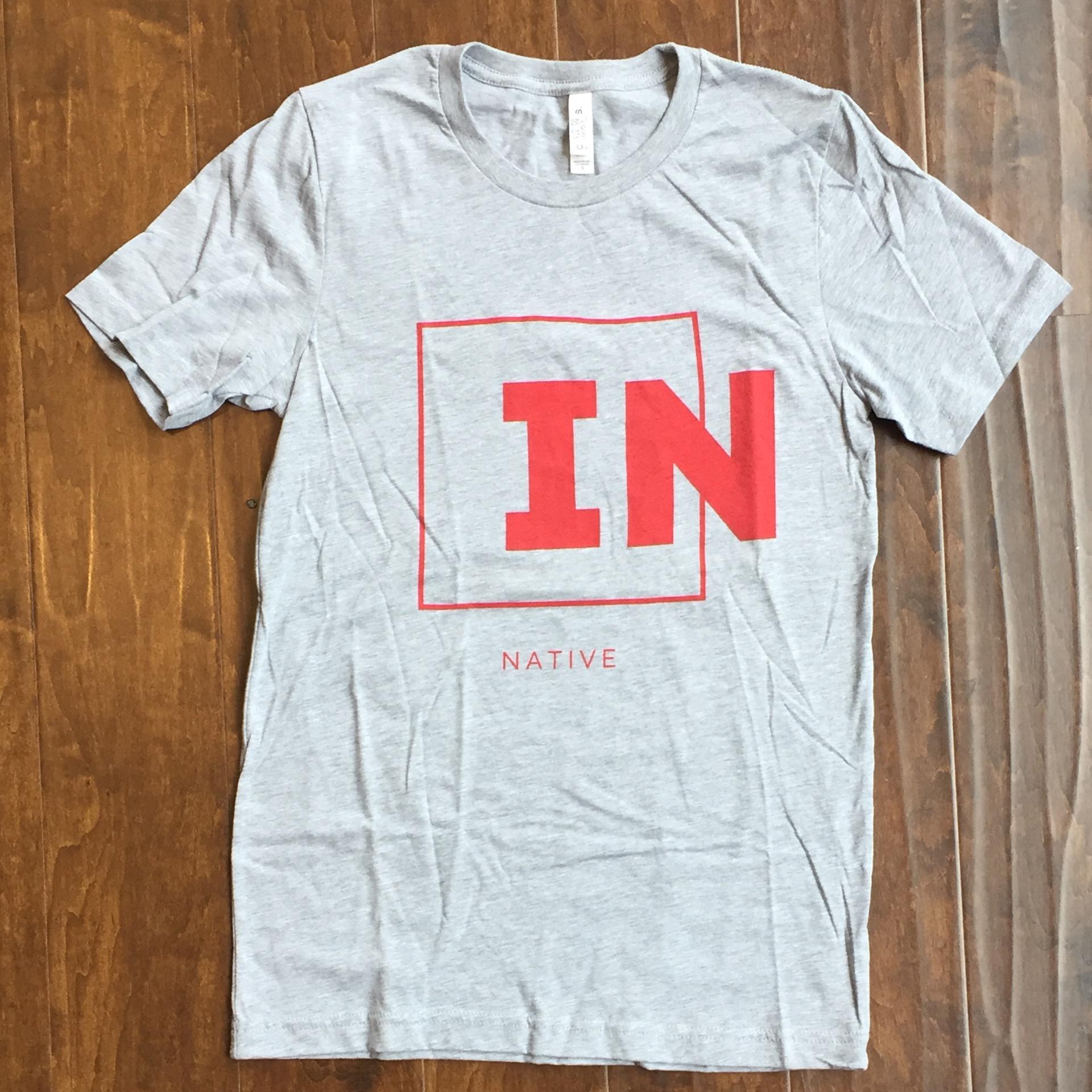 Indiana Native OGD57 - Gray