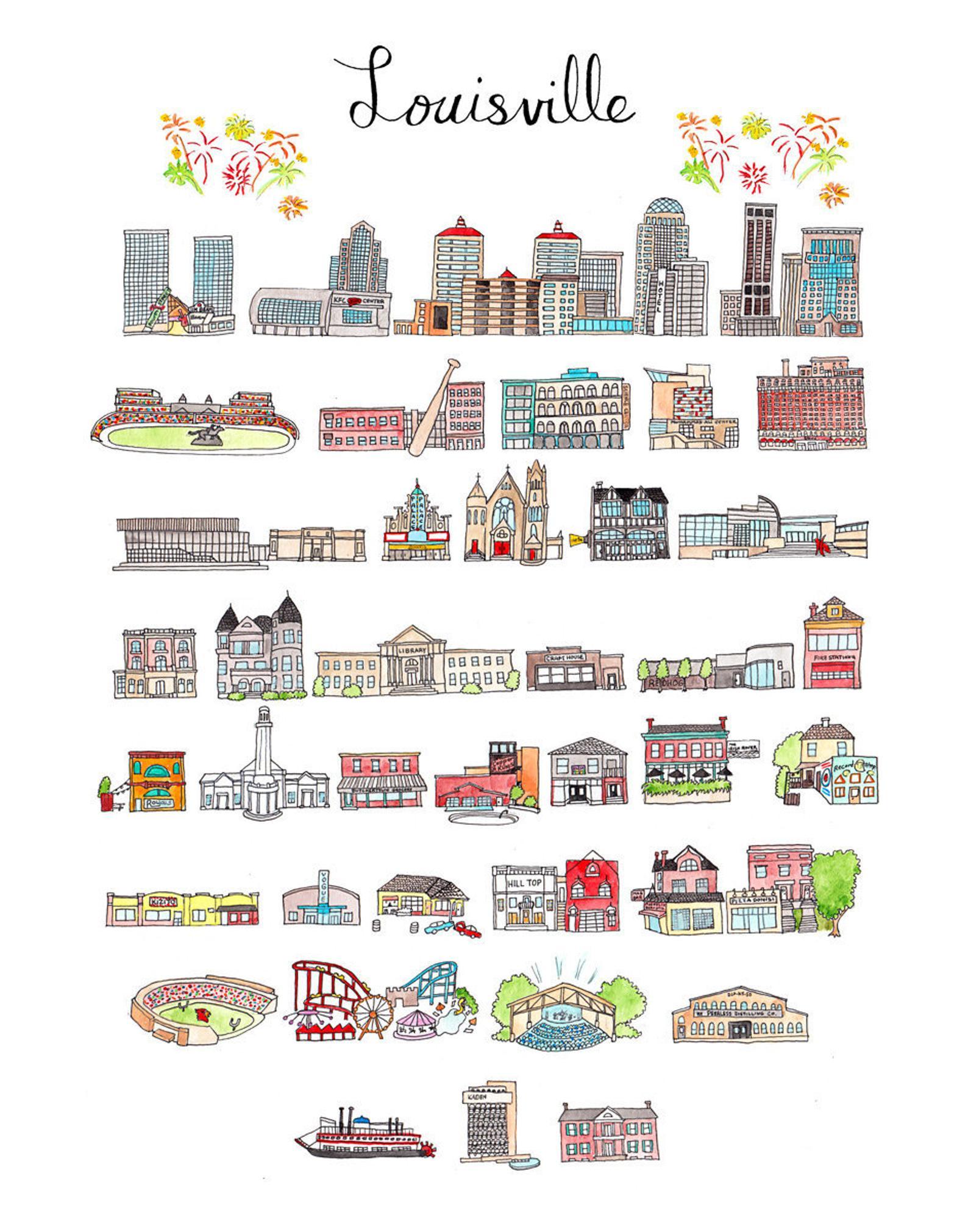 Jodi Print - Lou City Portrait
