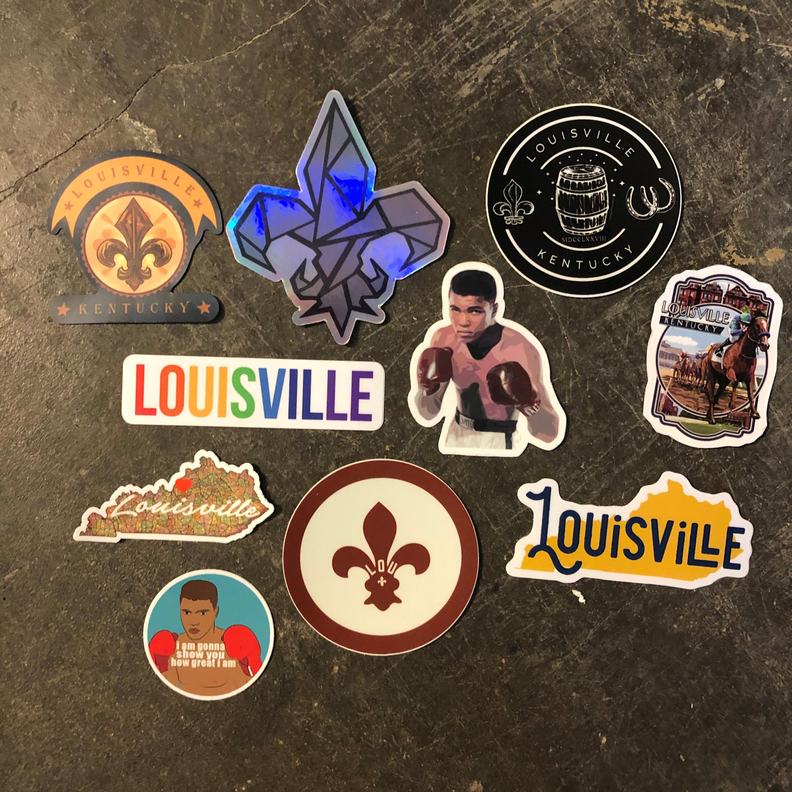 Louisville Stickers