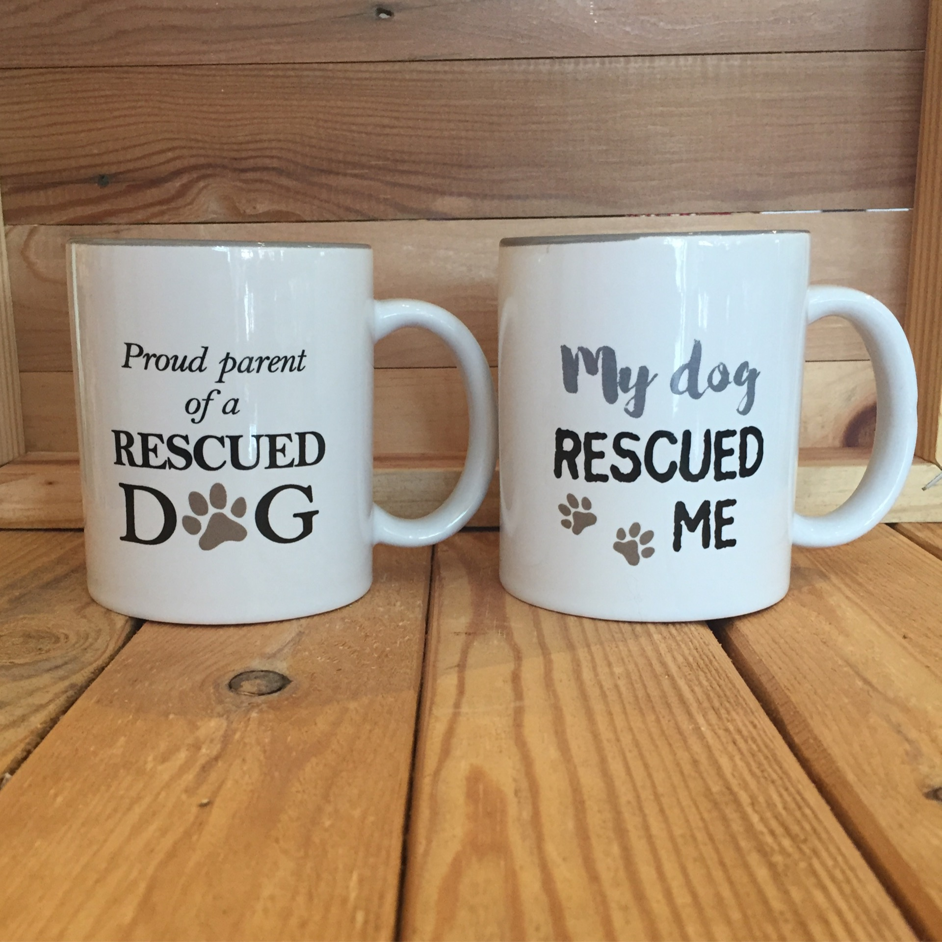 Mug (Proud Parent, My Dog Rescued Me)