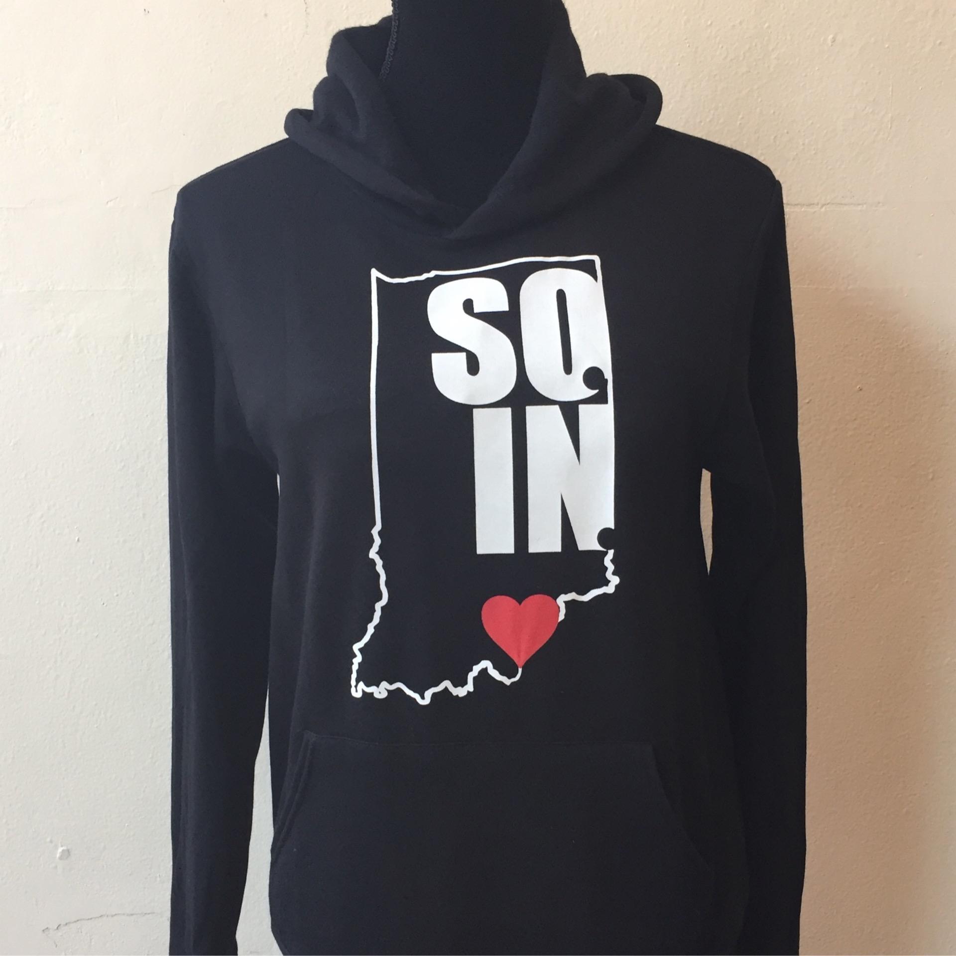Soin Love Sweatshirt Hoodie  (black)
