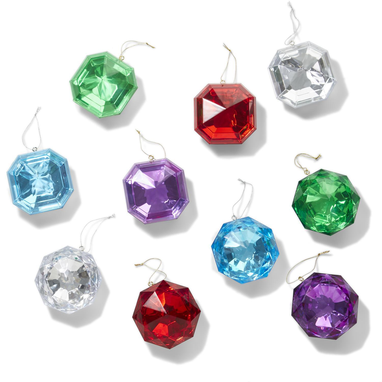 Two's Company Cut Gem Ornament