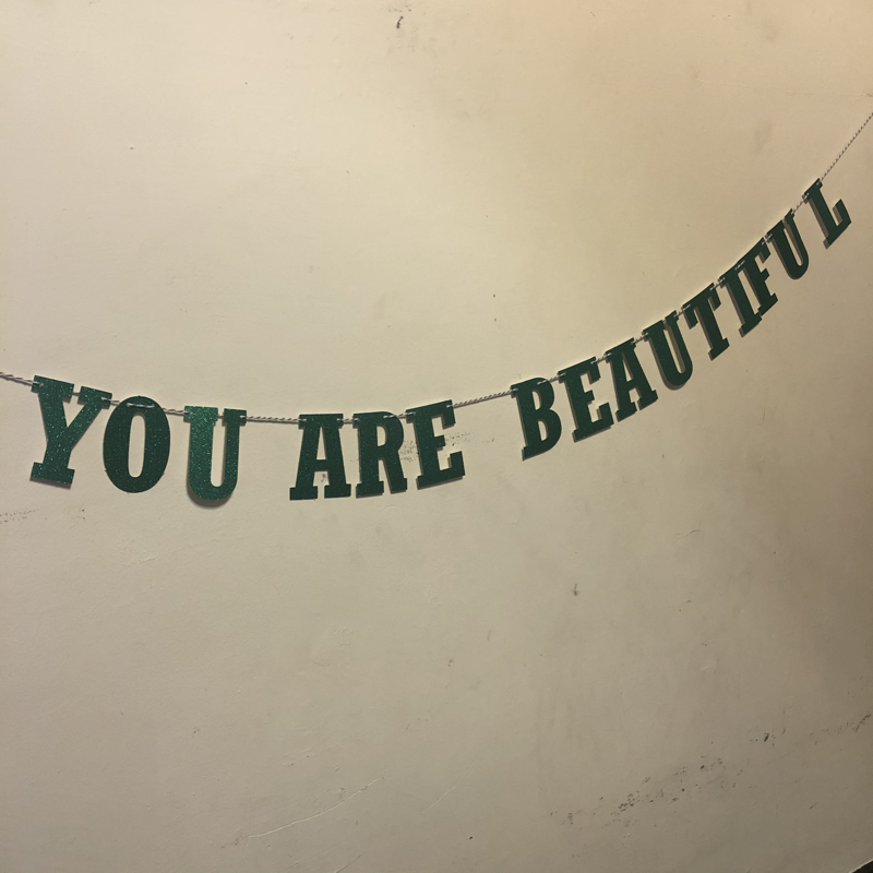 You Are Beautiful Banner