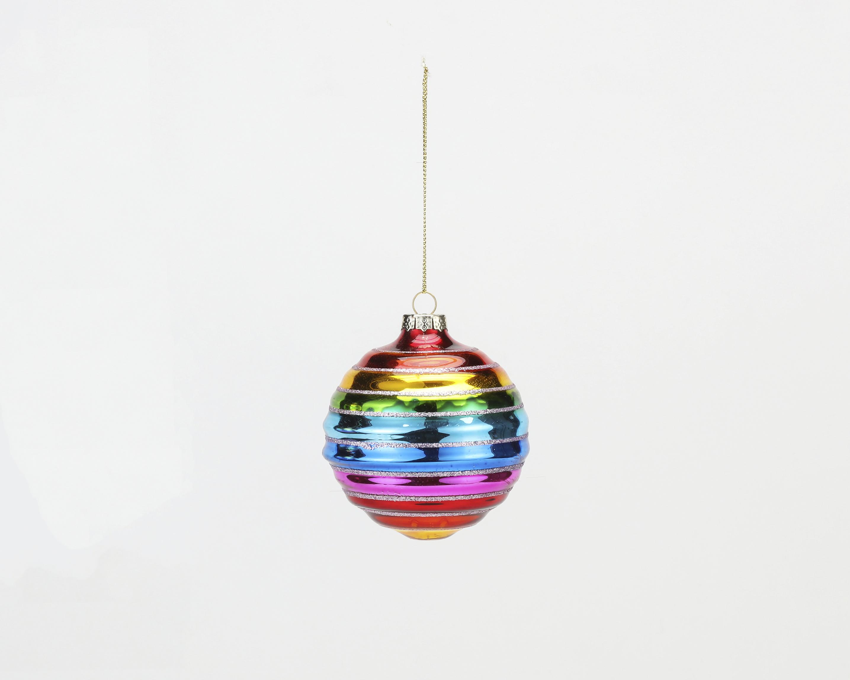 180 Rainbow Ball Ornament TT0993