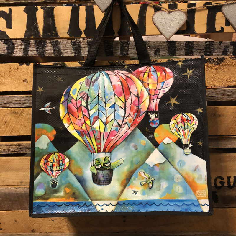 Allen Designs Recycled Jumbo Tote Balloon Ride