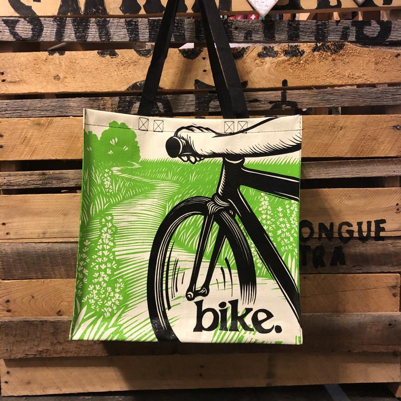 Blue Q Recycled Jumbo Tote Bike