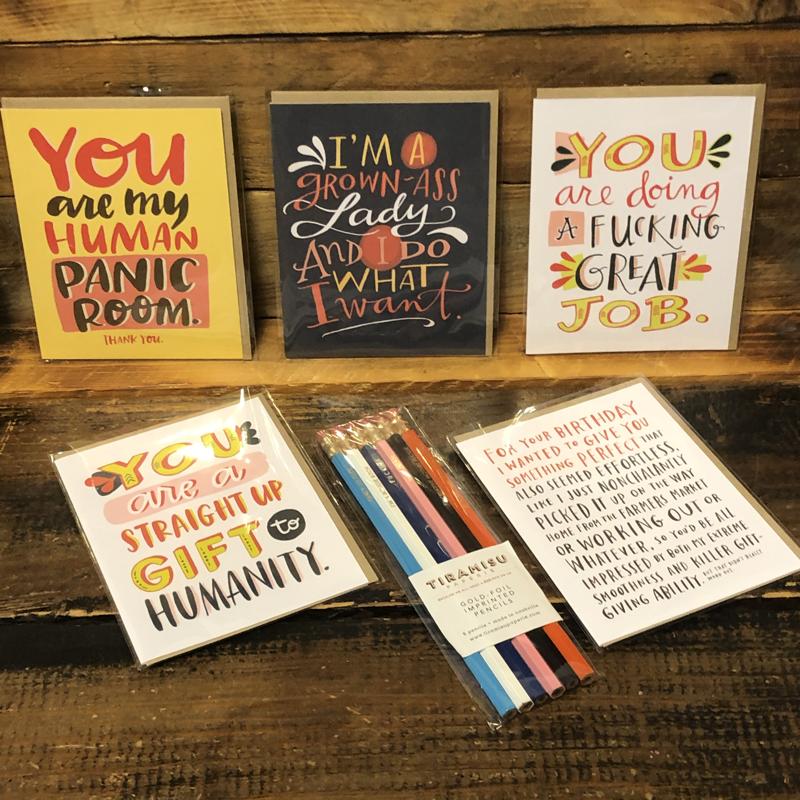 Card and Writing Set/Tiramisu Pencils and Emily McDowell Cards