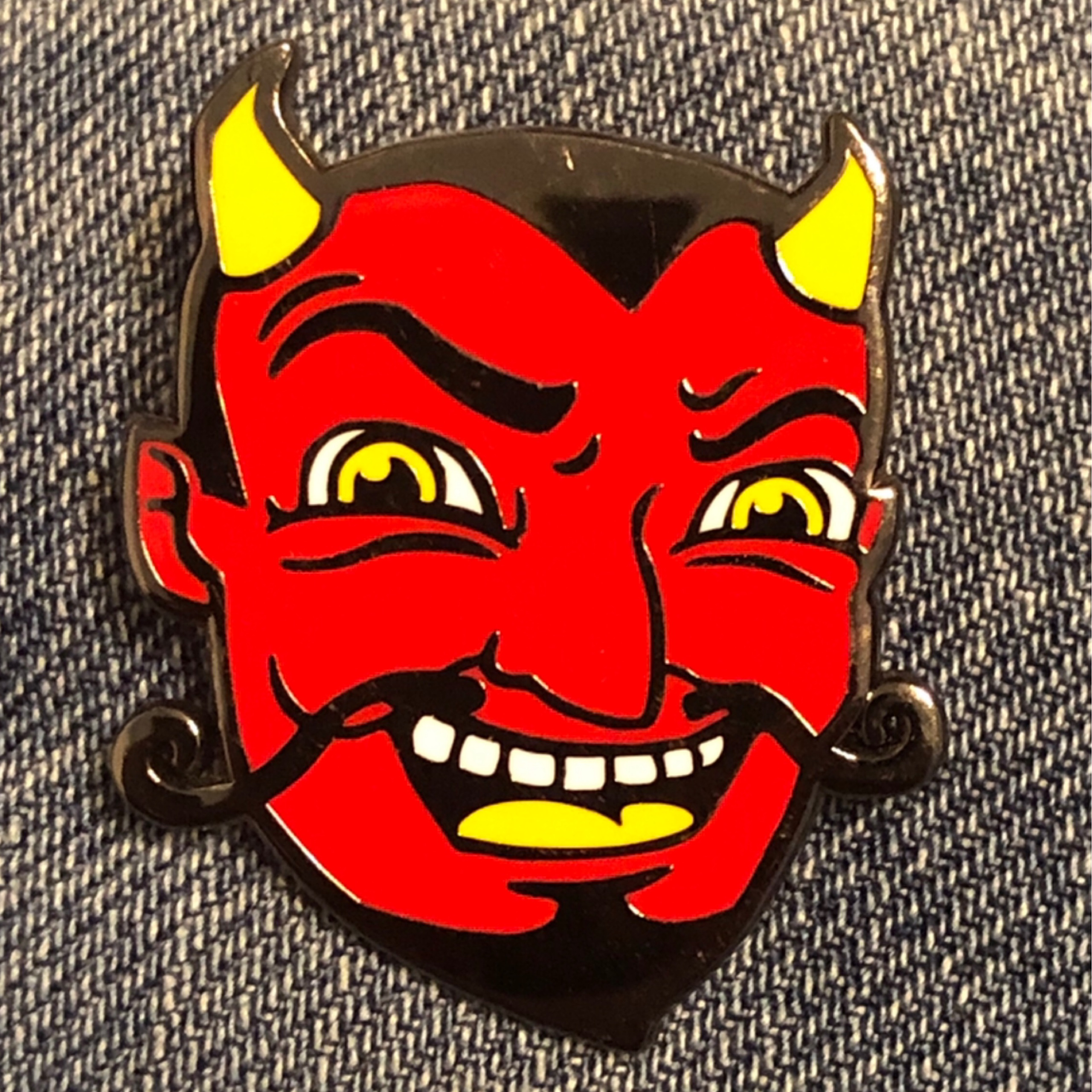 Devil Enamel Pin