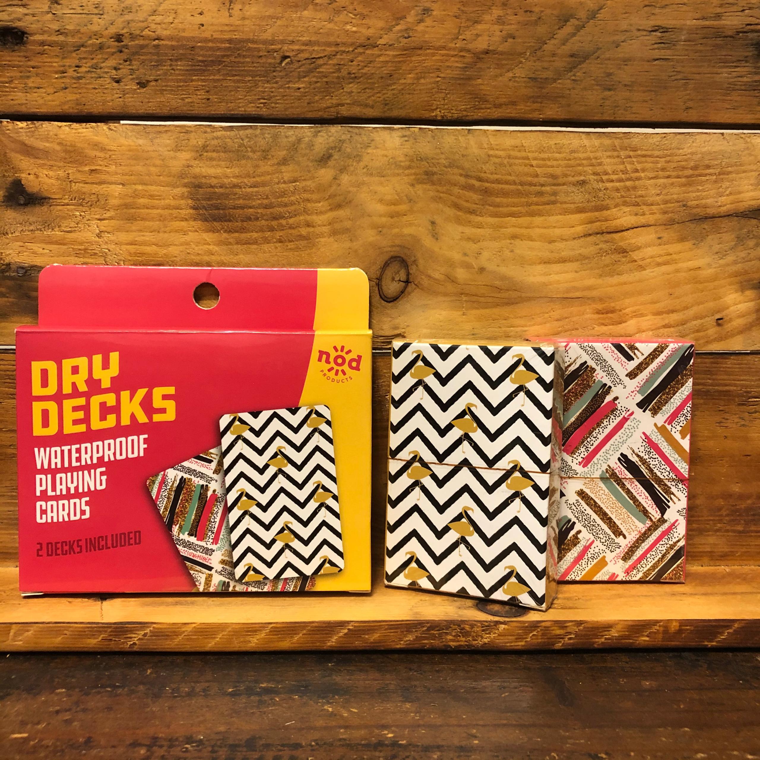 Dry Decks Waterproof Playing Cards Flamingo/Miami Vice