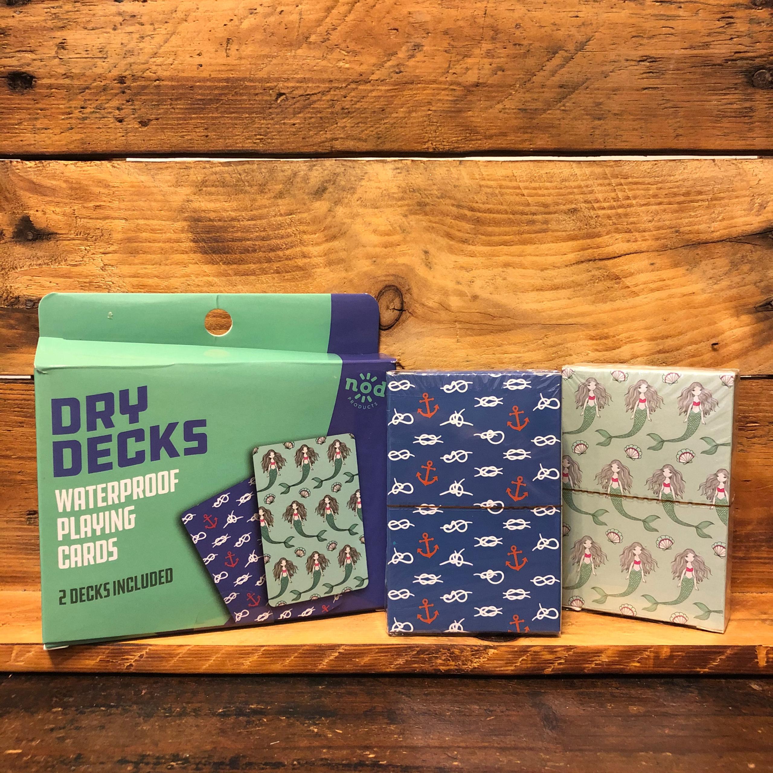 Dry Decks Waterproof Playing Cards Mermaid/Sailor