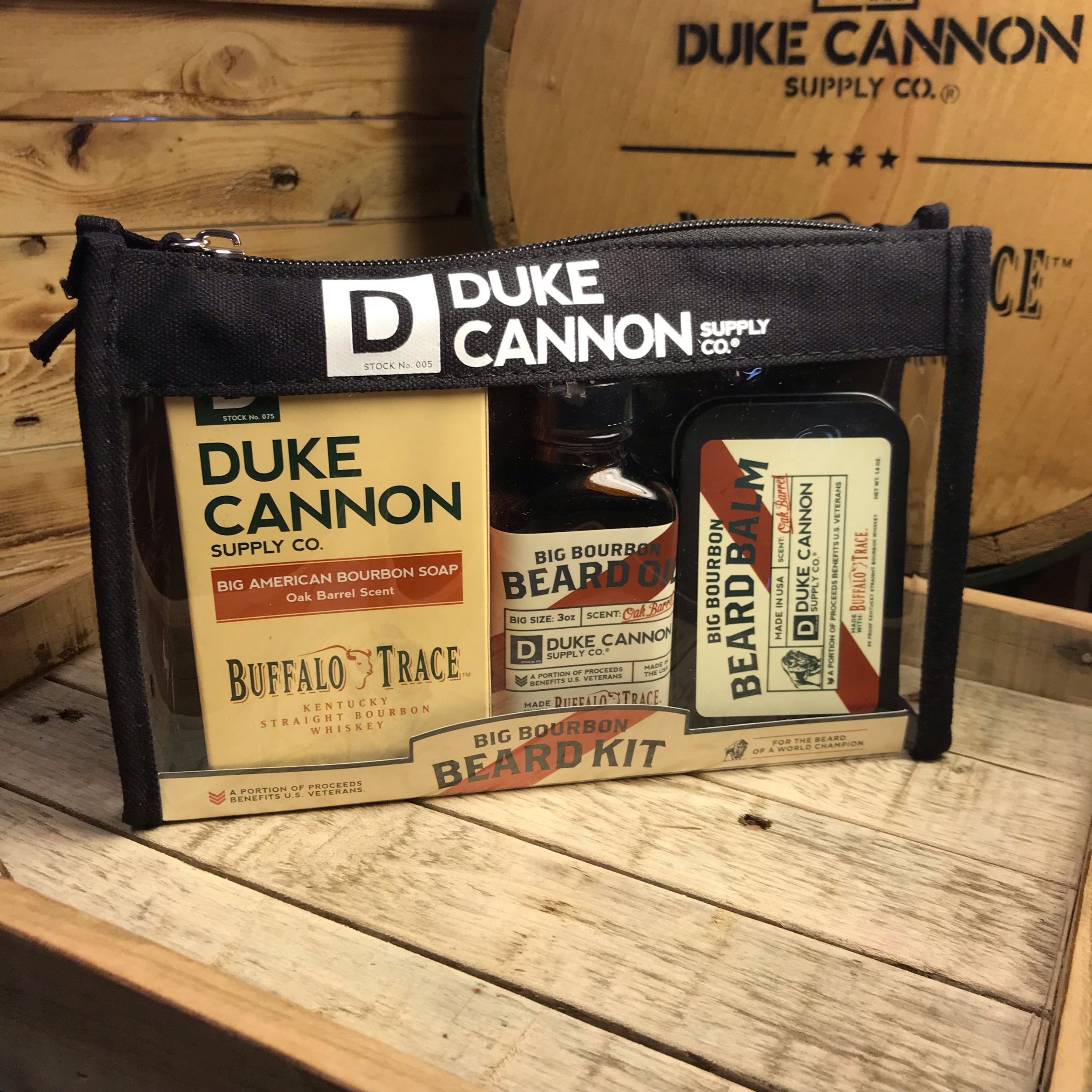 Duke Cannon Beard Kit