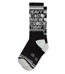 Gumball Poodle Heavy Metal Socks