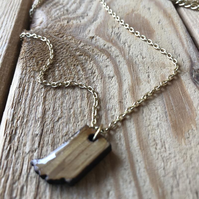 Indiana Necklace JD2 - Shiny Gold