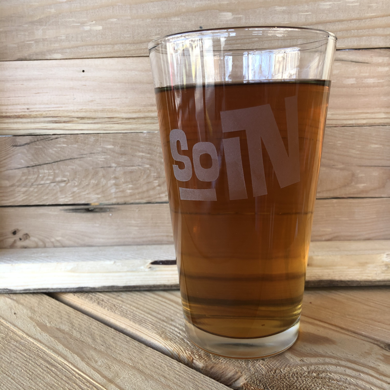 Indiana SOIN Pint Glass