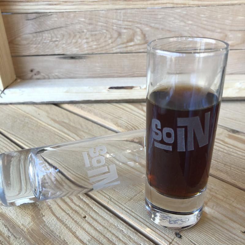 Indiana SOIN Shot Glass