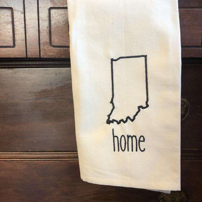 Indiana Tea Towel